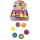 Glibber plasticine in fruit can 6- times assorted
