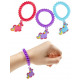 Bracelet hair band with unicorn 3 times assorted -