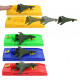 Aircraft with launcher 4- times assorted - approx.