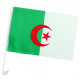 Bandiera auto Algeria circa 45 x 30 cm