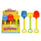 Zand speelgoed 3- maal geassorteerd over 31-34cm