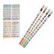 Pencil calculating pencil with eraser ca 19cm