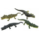Crocodile 4- times assorted about 14 cm