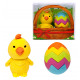 Eraser Easter egg & chick set of 2 in box appr
