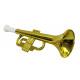 Tromba d'oro di circa 30 cm