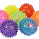 Spiked ball with light 7- times assorted - about 7