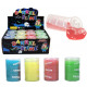 Mucus transparent cans 4- times assorted - ca 7,