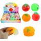 Water slime ball fruit + vegetables 4- times assor