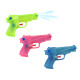 Water gun 3 times assorted transparent - ca 14c