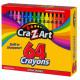Box 64 hard waxes Cra-z-art