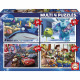 Disney -Pixar Multipuzzle 50-80-100-150