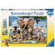 Puzzle Ravensburger 300p Amis Africains