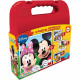 Mickey Suitcase 4 puzzles 12-16-20-25