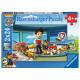 Paw Patrol Puzzle double 2x24 pcs