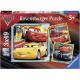 Cars Puzzle triple 3x49pz