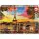 Puzzle Educa 3000 Teile Paris Sonnenuntergang