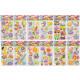foam hobby stickers pph, 12x18cm- h 5cm