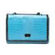 Trussardi Handbag D66TRC1009 Grana Azzurro