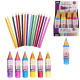 Pencil case with colors x16, 6 -times assorted