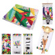 Exotic beach towel 70x150cm, 3- times assorted