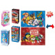 Disney 2-Puzzle Pack 4 assorted 10x20cm