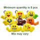 Emoji Plush Keychain assorted