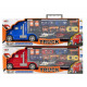 Die-Cast Truck + 4 cars + 2 helicopters