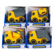 Truck Construction Friction 4 assorted 10x12cm