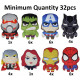 Marvel Avengers plush 8 assorted 18cm