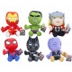 Regalo peluche Marvel Avengers 6 assortiti 24cm