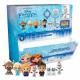 Disney frozen 3D Puzzle Eraser 7 assorted in Displ