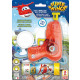 Dulcop Super Wings Bubble blow gun 60ml with li