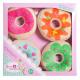 Sweet & Easy Plush Cronuts / Donuts 4-pak 21x2