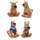 Scooby Doo Plüss S3 4 válogatott 28 cm