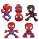 Spiderman Plush S3 Gift 5 assorted 30 cm