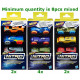 Nerf Nitro Foam Car 3-Pack 3 assorted 9x18cm