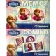 Disneyfrozen Zestaw 2w1 Memo Domino 17x22cm