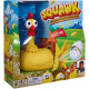 Mattel Squawk Chicken Game The Egg-Splosive 26x26c