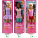Barbie You can be Anything Pop 3 assorted