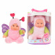 Muñeca con traje animal Cute Baby Butterfly 22.5 c