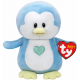 TY Plush Penguin Blue Twinkles 17cm