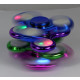 Palec odśrodkowa fidget spinner LED Chrome Far