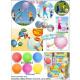Fun Ballon Ball Glitzer - im Display