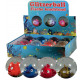 Glitter Ball Fish fényes 65mm - a Display