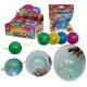 Fun Ballon Ball Glitzer mit Licht - im Display