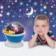 Mini-projector met LED-sterrenhemel - blauw