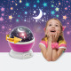 Mini-projector met LED-sterrenhemel - roze