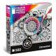 3D Color Therapy Puzzle 500 pezzi Puzzle fiori