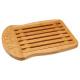 tabla de cortar de bambú, beige
