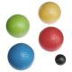 Bolas de petanca x 8, multicolor.